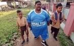Самый толстый мальчик в мире похудел к началу учебного года (фото)